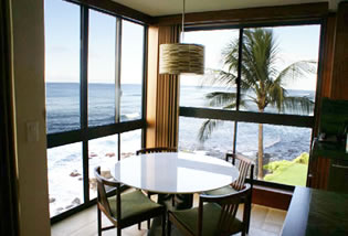 Oceanfront Penthouse, Kauai, Hawaii
